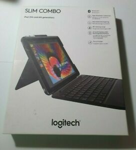 Logitech Slim Combo Bluetooth Keyboard for iPad 5th & 6th Gen