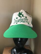 I'm Magically Delicious St Patricks Day Oversized Trucker Leprechaun Hat Cap