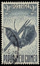 PAPUA NEW GUINEA 133 (SG12) - Shields and Spears (pa21004)
