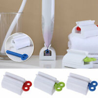 3x Rolling Tube Toothpaste Squeezer Toothpaste Easy Dispenser Seat Holder Stand
