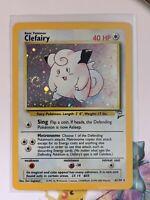 Clefairy | Holo | Excellent | Base Set 2 6/102 | Pokemon | English