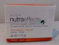 Avon Anti Aging Face Beauty Cream Night Formula Nutraeffects Radiance 1.7 oz