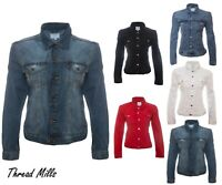 NEW WOMEN'S DENIM JACKET LONG SLEEVES JEANS JACKET CLEARANCE. FEW PIECES REMAIN!
