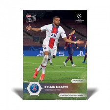2020 2021 Topps Now UEFA Champions UCL Kylian Mbappe #41 PSG Hat Trick - PRESALE
