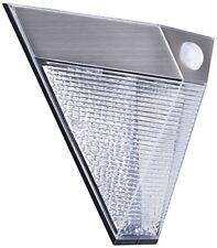 Smartwares 5.000.703 Lampada Solare con PIR finitura Acciaio/inox Integrated