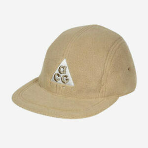 Nike ACG Cap Hat Mens Womens Adult Unisex Beige Tan Fleece Adjustable BV1050