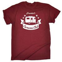 Grandads Caravan Club MENS T-SHIRT tee birthday gift camping camper van funny