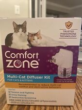 New listing Comfort Zone Multi-cat Diffuser Kit For Cats And Kittens