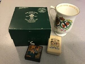 Princess Diana & Prince Charles Wedding - China Mug, Box & Soap