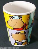 Ursula Dodge Six Bears Coffee Mug Signature Tea Cup Cartoon Humor Ceramic 14 oz