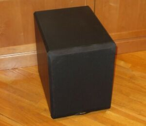 "Paradigm DSP-3200 Reference Series 12"" Bass-Reflex Subwoofer - Black"