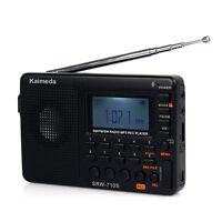 Digital Shortwave Radio FM/AM/SW radio Receiver Recorder MP3 REC Player