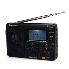 Digital Shortwave Radio FM/AM/SW radio Receiver Recorder MP3 REC Player