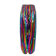 Holographic Harem Festival Pants, Rainbow, Silver, Gold, Festivals, Raves, Ibiza