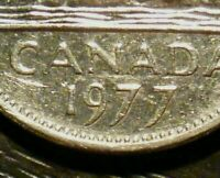 CANADA 1977 5 CENTS *LOW 7* VARIETY- E.F Cond!
