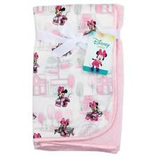 "Disney Baby Minnie Mouse Mink Sherpa Baby Blanket 30"" x 30"""