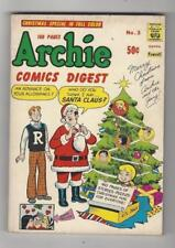ARCHIE COMICS DIGEST #3 Christmas Special In Full Color!