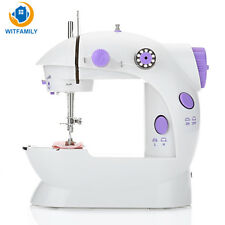 Desktop Sewing Machine Mini Electric Portable Hand Held Double Speed UK Plug