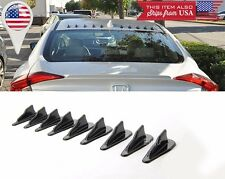 9 x Bumper Canard Diffuser windshield Roof Spoiler Vortex Generator for Audi BMW