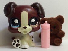 * Littlest Pet Shop Custom Inspired 1262 Collie Dog Puppy Lot DAKATKUSTOMS LPS