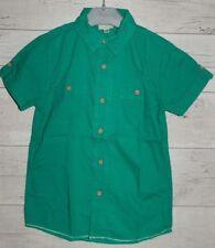 Chemise manches courtes TBE coloris vert marque Vertbaudet taille 6 ans