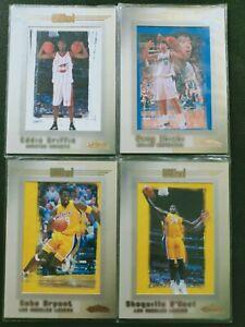 KOBE BRYANT 2001-02 FLEER SHOWCASE AVANT CARD INSERT #88 Shaq O'neal RC 4x Lots