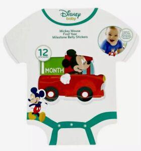 "Batman First Year Monthly Milestone Belly Stickers 12 Months 4"" Round Baby Gift"