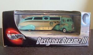 HOT WHEELS DESIGNER DREAMZ III LIMITED EDITION ELWOOD'S TRAILER CO. 1938 FORD