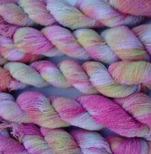 Skein Hand Dyed Lace Garn Crocheting & Knitting Yarns