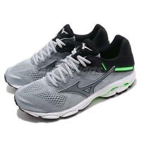 Mizuno Wave Inspire 15 Grey Green Black Men Running Shoes Sneakers J1GC1944-35