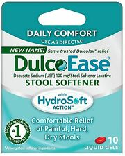 Dulcolax Stool Softener Liquid Gels 10 ea