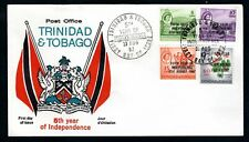Trinidad & Tobago - 1967 5th Year of Independence Overprints First Day Cover