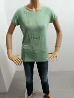 Maglia LIU JO Donna Taglia Size M Maglietta T-Shirt Woman Manica Corta 5784