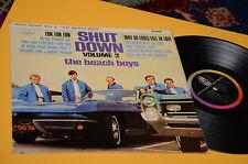 BEACH BOYS LP SHUT DOWN ORIG UK 1964 MONO VERSION EX LAMINATED FLIPBACK COVER