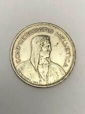 5 Schweizer Franken 1932 B Silber 31679