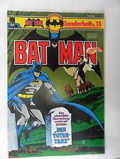 1 x Comic  Batman Sonderheft   Nr. 13    mit Sammel Ecke   Zustand 2