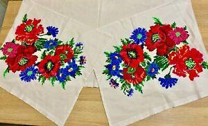 Рушник Rushnik Ukrainian HANDMADE embroidered Traditional Rustic Towel Wedding