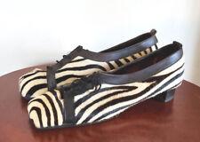 Vintage Cristina Fur Shoes size 9 1/2