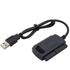 USB 20 to SATA IDE 25 35 Hard Drive HD HDD Converter Adapter Connection Cable^