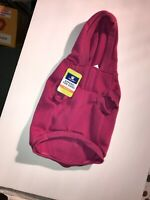 Dog coat sweatshirt pink size M with Star on back  Hoodie TOP PAW New