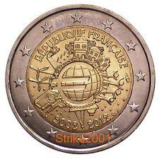 2 EURO COMMEMORATIVO FRANCIA 2012 10° Anniversario