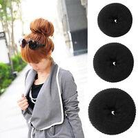 Women Girl Donut Hair Ring Bun Former Shaper Hair Styler Tools Gift ss