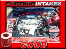 BLACK RED 90-99 TOYOTA CELICA ST/GT/GTS 1.6L/1.8 1.8L/2.2 2.2L AIR INTAKE KIT