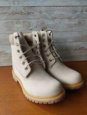 Timberland Women 6 Inch PREMIUM WEDG WNTR WHITE Boots. Women Size 9