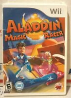 Aladdin Magic Racer (Nintendo Wii, 2011) Brand New Sealed! COMPLETE
