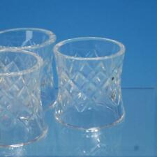 Waterford Crystal - Comeragh Pattern - 7 Napkin Rings - 2 inches