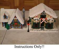 100+ CUSTOM LEGO INSTRUCTIONS like Winter Village Candy Shop - 10229 Cottage