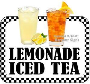 Lemonade Iced Tea DECAL (CHOOSE YOUR SIZE) Food Truck Concession Vinyl Sticker