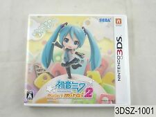 Project Mirai 2 Hatsune Miku Nintendo 3DS Japanese Import JP Japan US Seller A