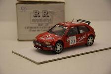CITROEN SAXO KIT CAR CORSE 1997 RR MINIATURES 1/43 NEUVE EN BOITE MONTAGE USINE